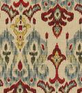 Swavelle Mill Creek Print Fabric 54\u0022-Flame