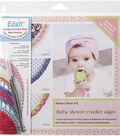 Edgit 3 Hook N Book Set-Baby Shower Crochet Edges