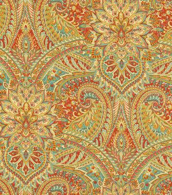 """Waverly Upholstery Fabric 54""""-Breezeway Berry"""