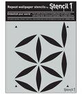 Stencil1 Moroccan Petal Stencils 11\u0027\u0027x11\u0027\u0027