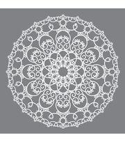 DecoArt® Americana® Mixed Media 12''x12'' Stencil-Doily, , hi-res