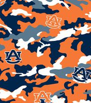 "Auburn University Tigers Cotton Fabric 44""-Camo, , hi-res"
