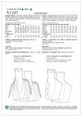 Vogue Patterns Misses Dress-V1297