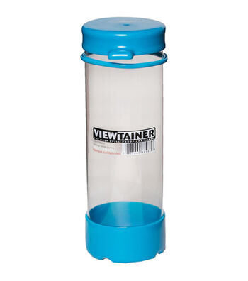 Viewtainer 2.75''x8'' Tethered Cap Storage Container