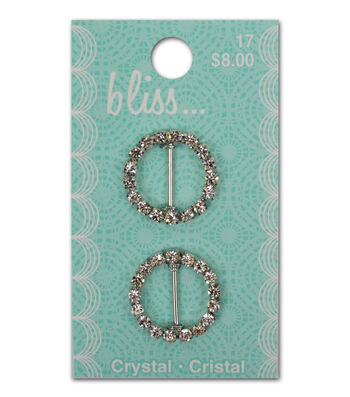Bliss Crystal Round Slide