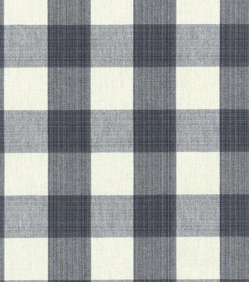 "Williamsburg Upholstery Fabric 54""-Stratford Check/Licorice"