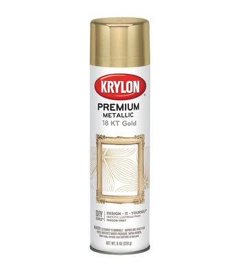 Krylon Metallic Sprays-8 Ounces