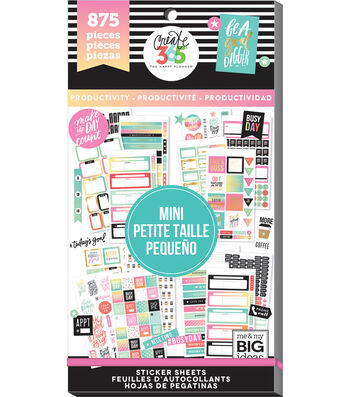 Me & My Big Ideas® Happy Planner™ Mini Stickers-Productivity