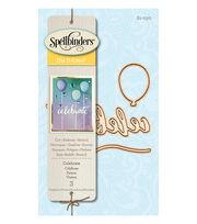 Spellbinders® 3 Pack Etched Die D-Lites-Celebrate, , hi-res