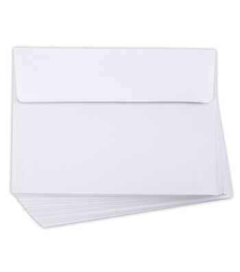 Core'dinations Envelopes: A7 White; 50 pack