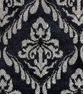 Shine Damask Knit Blk/gold