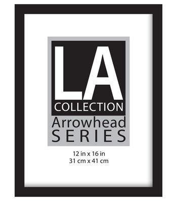 LA Collection Flat Top Frame 12x16-Black