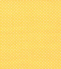 Quilter\u0027s Showcase Cotton Fabric 44\u0022-Pin Dot Yellow