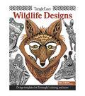 Design Originals Tangle Easy Wildlife Designs Coloring Book
