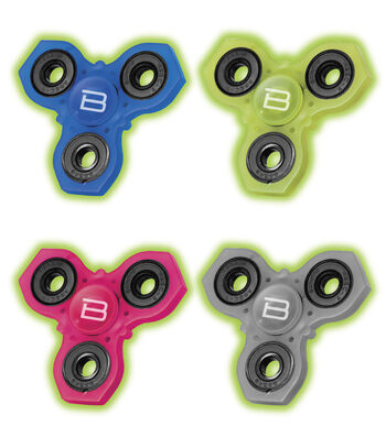Glow In Dark Fidget Spinners-Assorted Colors