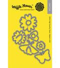 Waffle Flower 11 pk Craft Dies-Pretty Wings