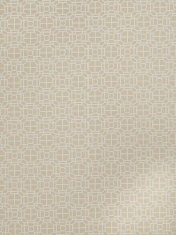 "Jaclyn Smith Upholstery Fabric 54""-Geo Rot/Cashew"