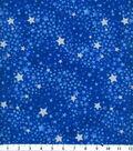 Keepsake Calico Cotton Fabric 44\u0027\u0027-Navy Tonal Swirled Stars