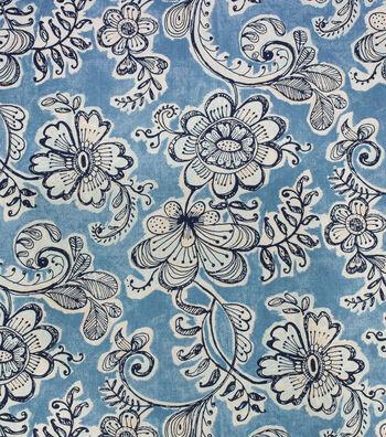 """Home Essentials Print Fabric 45""""-Rosini Pacific"""