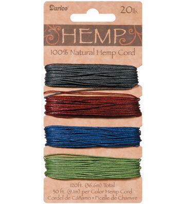 Earth Pastel - Hemp Cord 40 yds