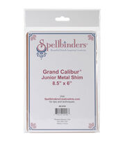 Spellbinders® Grand Calibur® 6''x8.5'' Junior Metal Shim, , hi-res