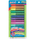Rainbow Glitter Glue .28oz 12/Pkg-