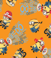 Minions - Orange Words Cotton, , hi-res