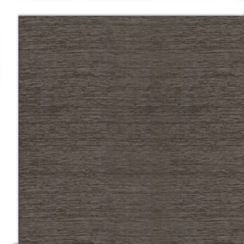 Ruggable 2pc Washable Rug System-Solid Chenille Rich Grey