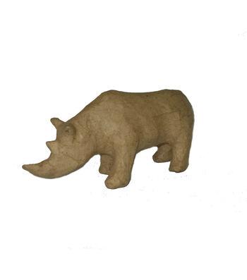 Paper Mache-Rhinoceros