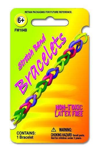 Stretch Band Bracelet Asst