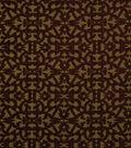 Home Decor 8\u0022x8\u0022 Fabric Swatch-Robert Allen Tuscan Scroll Cayenne