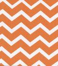Keepsake Calico™ Cotton Fabric-Orange&White Chevron