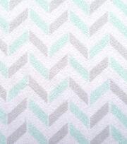 "Magic Moon™ Nursery Fabric 58""-Night Owl Chevron, , hi-res"