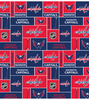 "Washington Capitals Fleece Fabric 60""-Block, , hi-res"