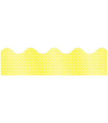 Carson-Dellosa Yellow Sparkle Borders