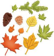 Spellbinders Shapeabilities Dies Fall Foliage, , hi-res