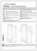 Mccall Pattern V8809 B5 (8-10-1-Vogue Pattern