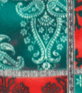 Anti-Pill Fleece Fabric 59\u0022-Gray Poppy Patcwork