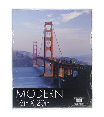 Darice Glass Clip Plastic Photo Frame 16x20