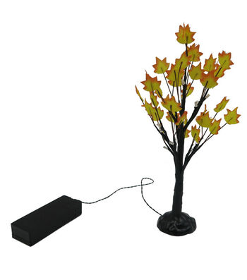Fall Into Color Littles Large LED Tree-Yellow