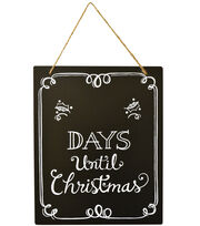 Fab Lab™ Chalkboard Count Down Until Christmas, , hi-res