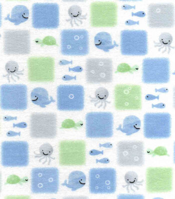 "Nursery Flannel Fabric 42""-Patch"