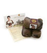 Outlander Garment Crochet Kit-Claire's Heroic Healing Shrug, , hi-res