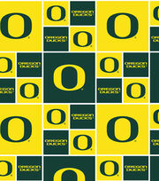 "University of Oregon Ducks Cotton Fabric 43""-Block, , hi-res"