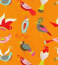 Waverly Print Fabric 54\u0022-For The Birds/Flamingo