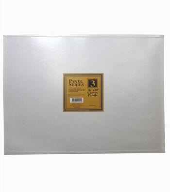 "Value Pack Canvas Panels-16""x20"" 3PK"