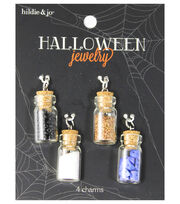 hildie & jo™ Halloween 4 pk Filled Potion Bottles Charms, , hi-res