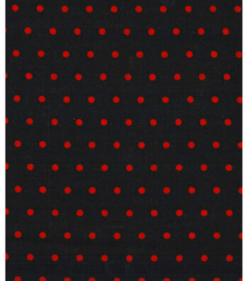 "Holiday Showcase™ Halloween Cotton Fabric 43""-Orange Dots"