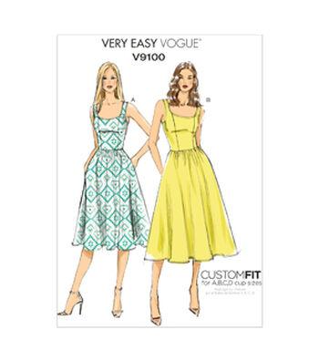 Vogue Patterns Misses Dress-V9100