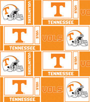 "University of Tennessee Volunteers Cotton Fabric 44""-Herringbone Box, , hi-res"